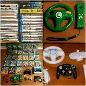 Wii U GAMES / JEUX / ACCESSORIES  / ACCESSOIRES