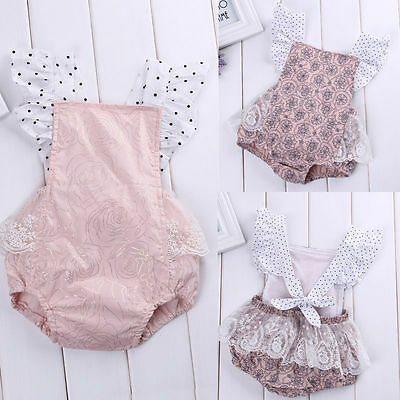 Cute Newborn Baby Girls Floral Romper Bodysuit Jumpsuit Outfits Sunsuit Costume](Cute Infant Costumes)
