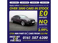 Audi A5 2.0TDI(177ps)Sportback 2014MY quattro Black Edition FROM £79 PER WEEK