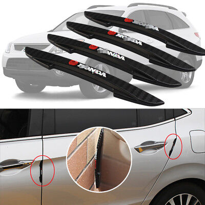 For Hyundai Veracruz Side Door Edge Guard Bumper Trim Protector Stickers 4pcs