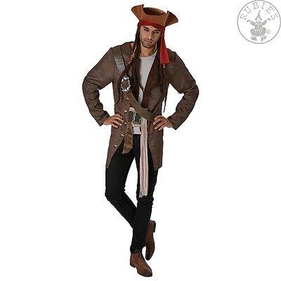 Jack Der Pirat-kostüm (RUB 3820520 Disney Kostüm Jack Sparrow Fluch der Karibik 5 Deluxe Pirat Piraten)