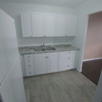 Flooring, tiles, painting and most interior work
