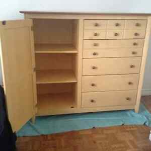 NADEAU Cherry Wood Dresser - Price Reduced!