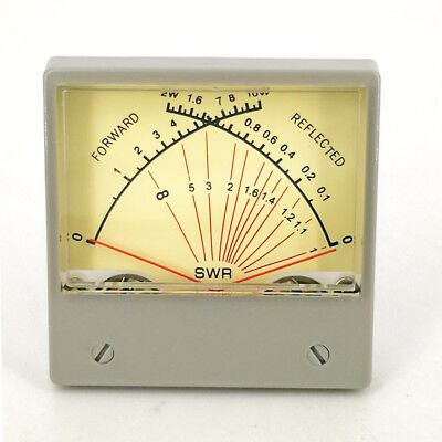 SZ-70 Panel Dual SWR Forwad / Reflected Meter 100uA VU Meter ampermeters HF-RF