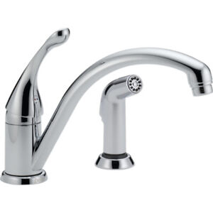 Delta Kitchen Faucet with Separate Spray Model 441