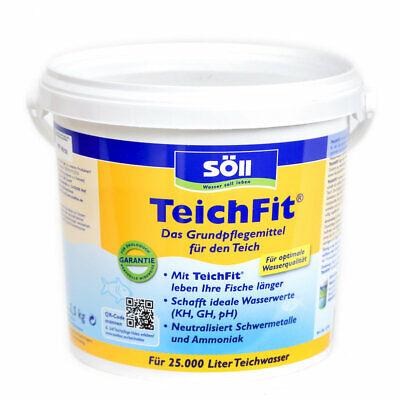 Söll Teichfit, 2,5 kg for 25.000 L, for one Long Leben Der Fische. Sch
