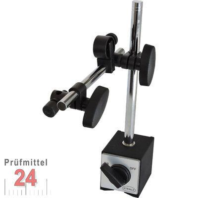 STEINLE Magnetstativ Magnet Messstativ für Meßuhr Messuhr mit Zentralklemmung (Messuhr Magnet)