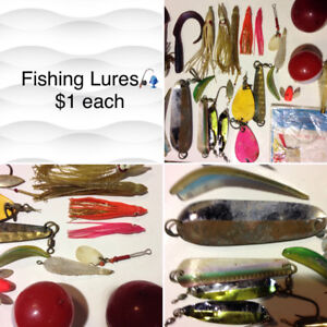 Fishing Lures $1 each at Great Pacific Pawnbrokers