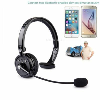 Trucker Driver Headset Bluetooth Wireless Universal PC Gaming Headphone with mic