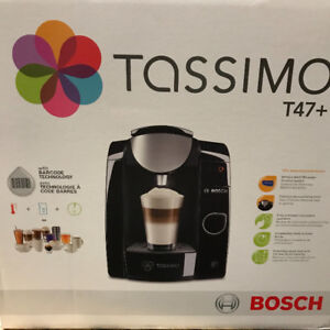Bosch Tassimo T47+ Multi Beverage Coffee Maker Black Brand New