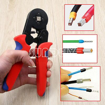 Mini Ratsche Crimperzange Crimpwerkzeug Kit Kabel Draht Elektrisch Terminal Ho-Q