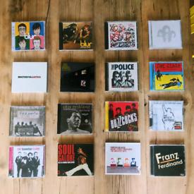 Classic & Greatest Hits Albums CD The Clash Manics Blur Arctic Monkeys