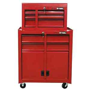 Sealedbox 48'H 5 Drawer Tool Chest/Cabinet With Lockes (2 Chest