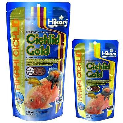Hikari Sinking Cichlid Gold Pellets Free Shipping ()