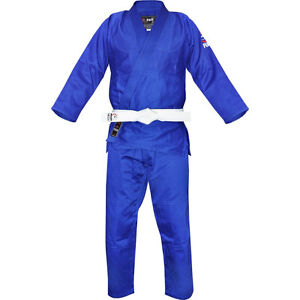 Blue Fuji BJJ Gi - Sized A4
