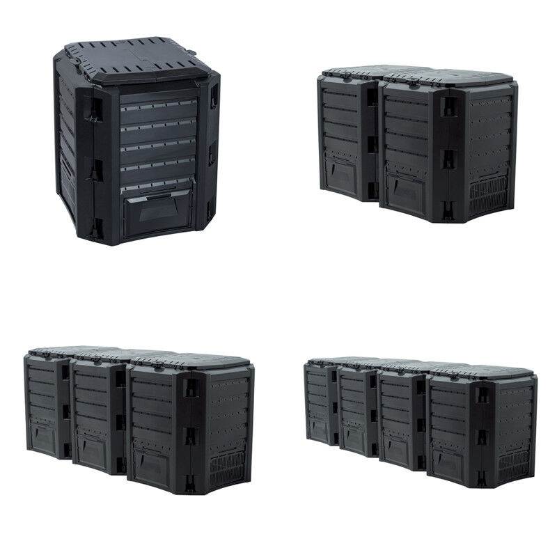 Gartenkomposter Komposter Schnellkomposter 380L 800L 1200L 1600L Thermo