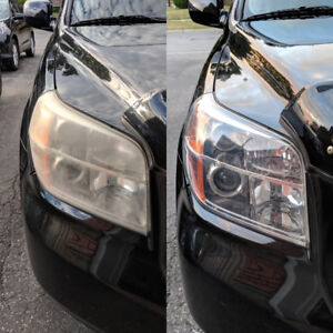 HEADLIGHT RESTORATION: Mobile Service Available $20 PROFESSIONAL