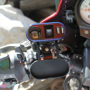 Motorcycle or ATV Power Supply With USB Ports