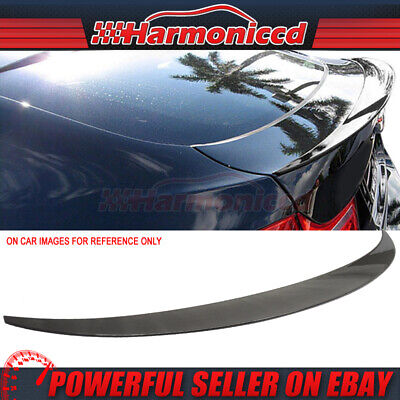 Fits 08-14 BMW X6 E71 5Dr Trunk Spoiler Wing Painted #475 Sapphire Black