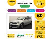 Volkswagen Golf GTD FROM £57 PER WEEK!