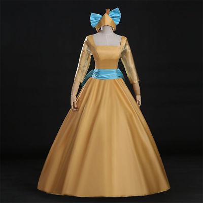 Princess Anastasia Adult Costume Bow Cartoon Cosplay Full Dress   NN.1011 - Anastasia Costume