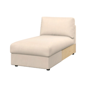 Chaise section for ikea vimle sofa (with storage).