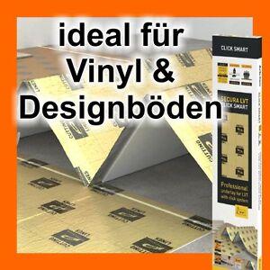 SECURA LVT spezielle Unterlage für Vinylbelag Designboden Designbelag 10 m²