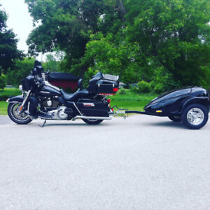 Motorcycle trailer for sale.