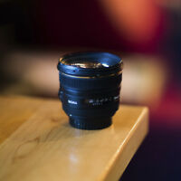 Lens Sigma 50mm f1.4 for Canon