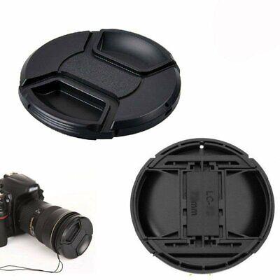 2x Ø 58mm Tappo Copriobiettivo A MOLLA CAP per Canon Nikon Sony COPRI OBBIETTIVO