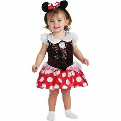 Disguise Disney Infant Minnie Mouse Halloween Costume Dress-Up 12-18 - Baby Minnie Mouse Halloween Costume