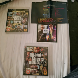 2 x GTA games on PS3 / both for just £10 pound