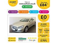 Mercedes-Benz CLS350 FROM £84 PER WEEK!