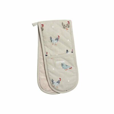 Sophie Allport Lay a Little Egg Chicken Double Oven Glove (Double Potholder) -