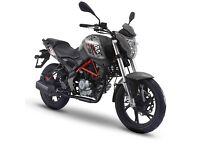 KSR GSR 125, 125CC MOTORCYCLE, 125CC MOTORBIKE,NEW, FINANCE AVAILABLE, TWO YEAR WARRANTY