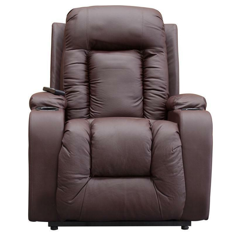 reclining theraposture operated chair adjustable riser previousnext recliner from dual electrically beige electric motor chairs