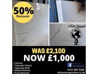 Quartz, Granite and Marble Sale!!