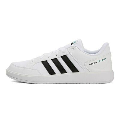Mens Adidas All Court White/Black Trainers (TGF42) RRP £56.99