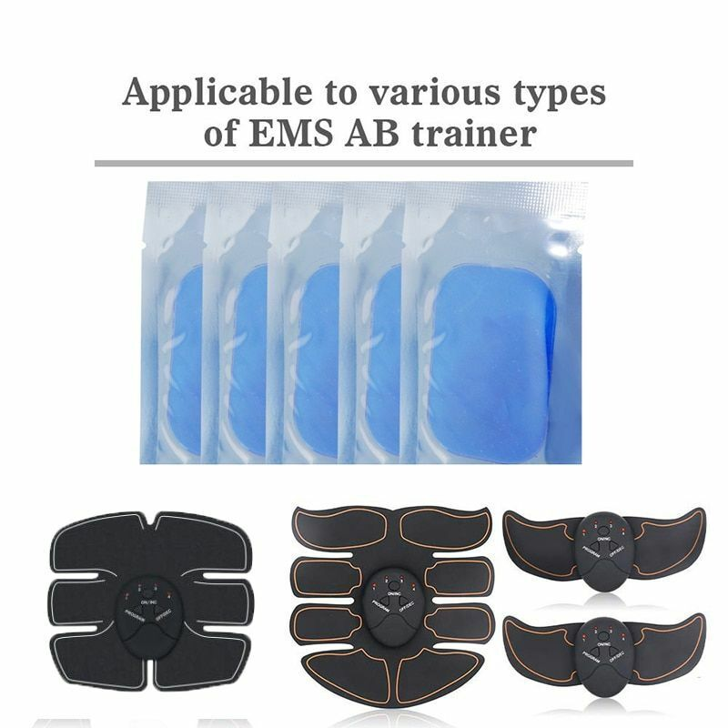 Gel Pads for EMS Abdominal ABS Trainer Weight Loss Hip Muscl