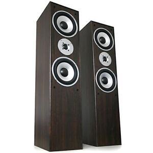 paar design 3 wege hifi stereo boxen stand lautsprecher ebay. Black Bedroom Furniture Sets. Home Design Ideas