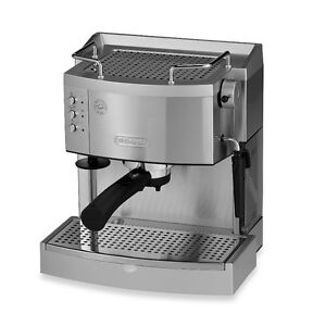 DeLonghi EC702 15 Bar Espresso and Cappuccino Machine, Stainless