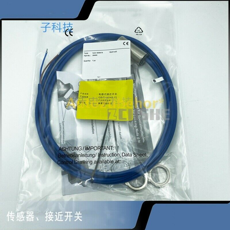 For Pepperl+Fuchs NJ5-18GM-N proximity switch sensor