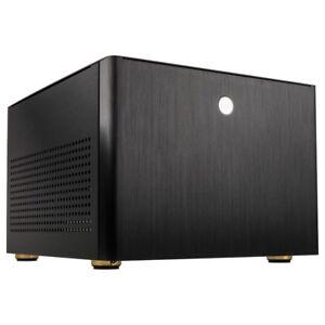 Kolink Satellite Plus Aluminium Micro ATX USB 3.0 PC Gaming Cube Case Black