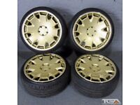 "18"" Ispiri CSR2 Alloy Wheels for an Audi A4, A3 MK2 MK3 VW Jetta, Golf MK5, MK6, MK7, Caddy"
