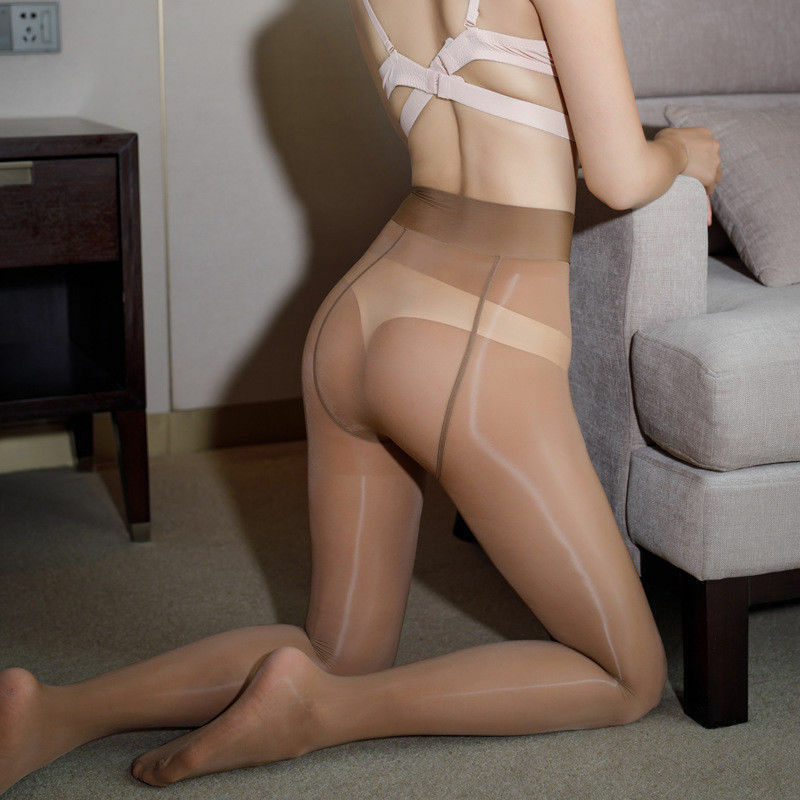 Women Shiny Glossy Lingerie Pantyhose Tights Hosiery Ebay Xhampster 1