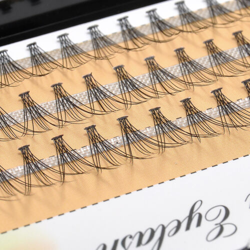 Fashion Makeup Individual Cluster Eye Lashes Extension Long
