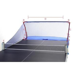 Table Tennis Balls Catch Net Ping Pong Training Equipment Serve Robot Practice(032022)