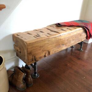 Pleasant Barn Beam Bench Buy And Sell Furniture In Ontario Kijiji Ibusinesslaw Wood Chair Design Ideas Ibusinesslaworg