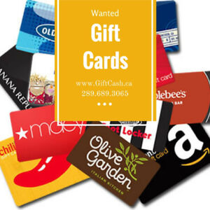 Interested to Buy Gift Cards!