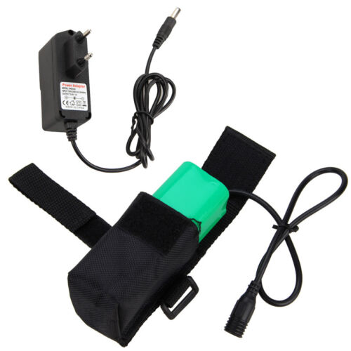Rechargeable 4x 18650 8.4V 16000mAh Battery Pack for Bike Bicycle Light Headlamp